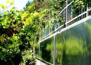 installazione su terrapieno del solare ad aria calda