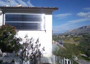 pannello solare ad aria calda verticale