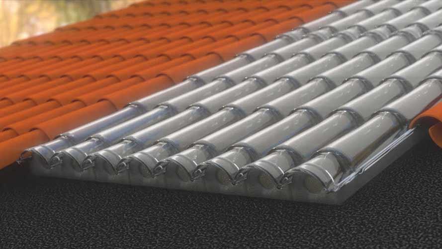 Pannello Solare Per Tetto Auto : Solarair pannelli solari ad aria calda