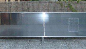 installazione aterra del solare ad aria calda